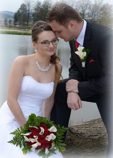 Soutěžní svatební pár číslo 81 - Lucie a Miroslav Strykovi, Lukavice
