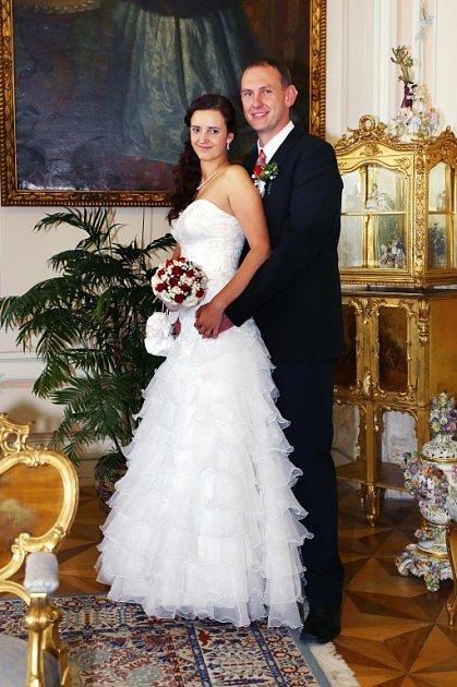 Soutěžní svatební pár číslo 99 - Eva a Martin Motlovi, Křelov