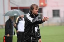 Trenér Petr Vlachovský.
