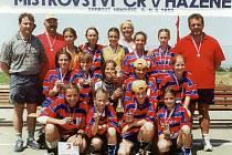 Mistryně České republiky v házené z roku 2000.