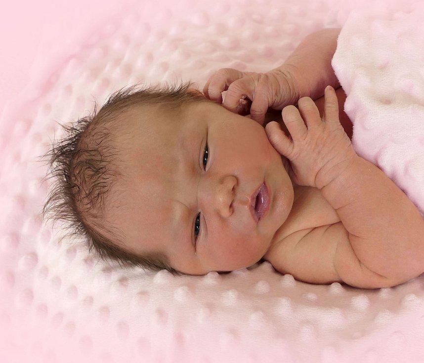Nella Kolaciová, Kunovice, narozena 23. prosince 2020 v Uherském Hradišti, míra 51 cm, váha 3400 g