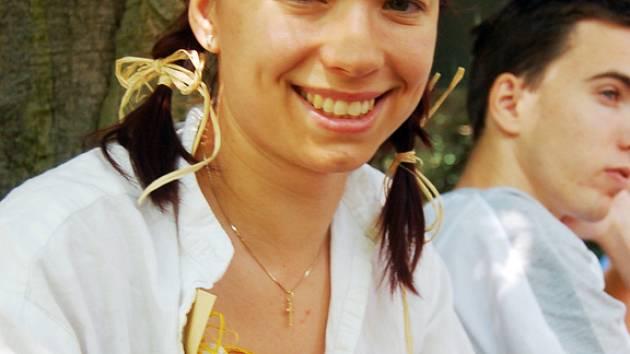 Lenka Tinková z Dolního Němčí.