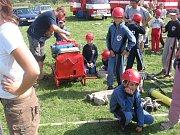 Mladému hasičskému potěru se v Kunovicích daří.