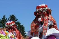 Jízda králů je ve Vlčnově největší folklorní akcí.