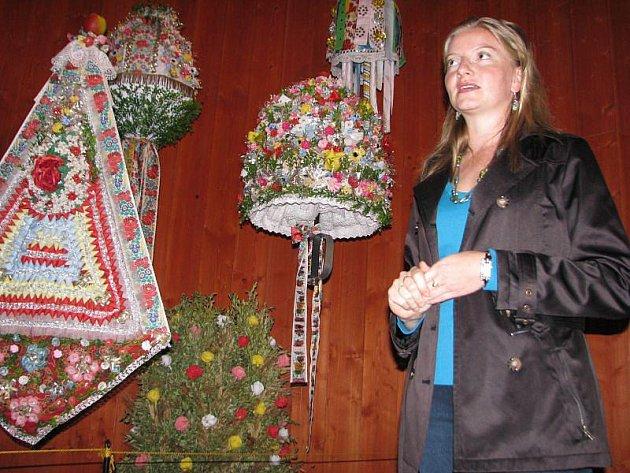 Stálou expozicí provedla etnografka Marta Kondrová.