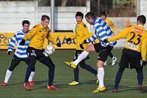 Fotbalisté Slovácka se Znojmem zatím neodehráli ani jeden mistrovský zápas. Potkali se pouze dvakrát v zimní Tipsport lize, naposledy v lednu 2013 zvítězilo Znojmo 3:2.