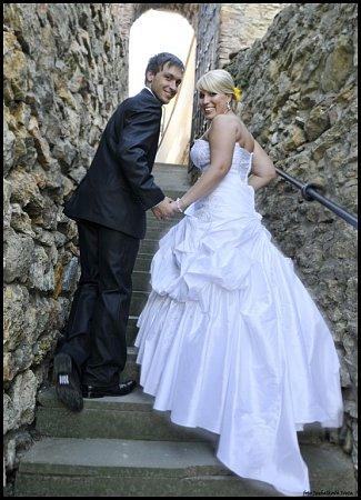 Soutěžní svatební pár číslo 110 - Markéta a David Dittmarovi, Lipník nad Bečvou.