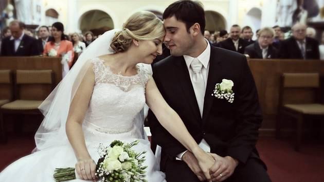 Soutěžní svatební pár číslo 127 – Johanka a Kamil Žižlavští, Prasklice