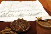 Zakládací listina z roku 1257.