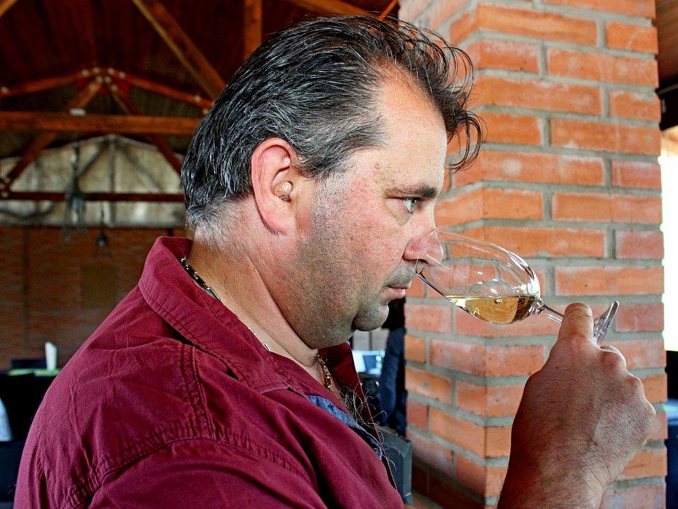 Šéf vinařství Dvůr Pod Starýma horama Petr Gottwald.