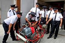 Sbor dobrovolných hasičů vNedakonicích oslavil vsobotu 120 let od svého založení.