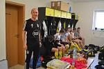 Slovenský trenér Igor Gúčik musel z vážných zdravotních důvodů skončit na lavičce divizního Strání.