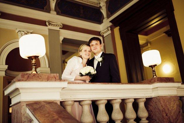 Soutěžní svatební pár číslo 117 - Ivana a Roman Nezhybovi, Uherské Hradiště.