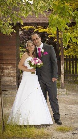 Soutěžní svatební pár číslo 54 - Martina a Jan Zajícovi, Holešov.