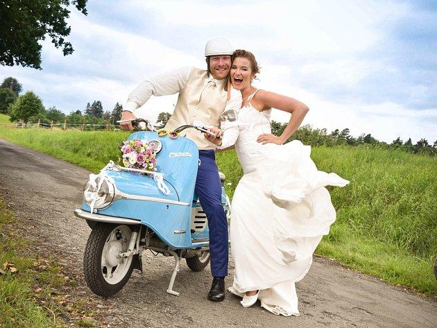 Soutěžní svatební pár číslo 64 - Petra a Michal Buřívalovi, Zábřeh