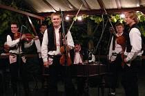 Muzikanti z Harafice u búdy potěšili své příznivce.
