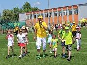 Staroměstský stadion Širůch hostil Den dětí s Hamé.