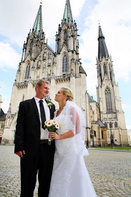 Soutěžní svatební pár číslo 152 - Lenka a Jan Fialovi, Skrbeň