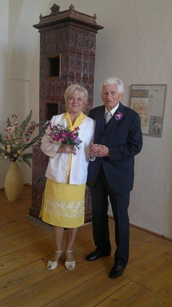 Soutěžní pár č. 96: Květoslava a Alois Lechnerovi, Prostějov