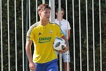 Sedmnáctiletý Adam Číž patří mezi talenty zlínského fotbalu.