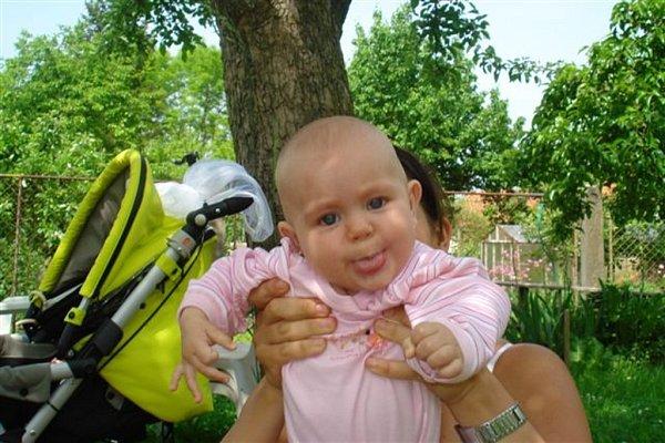 Dianka, 5měsíců.