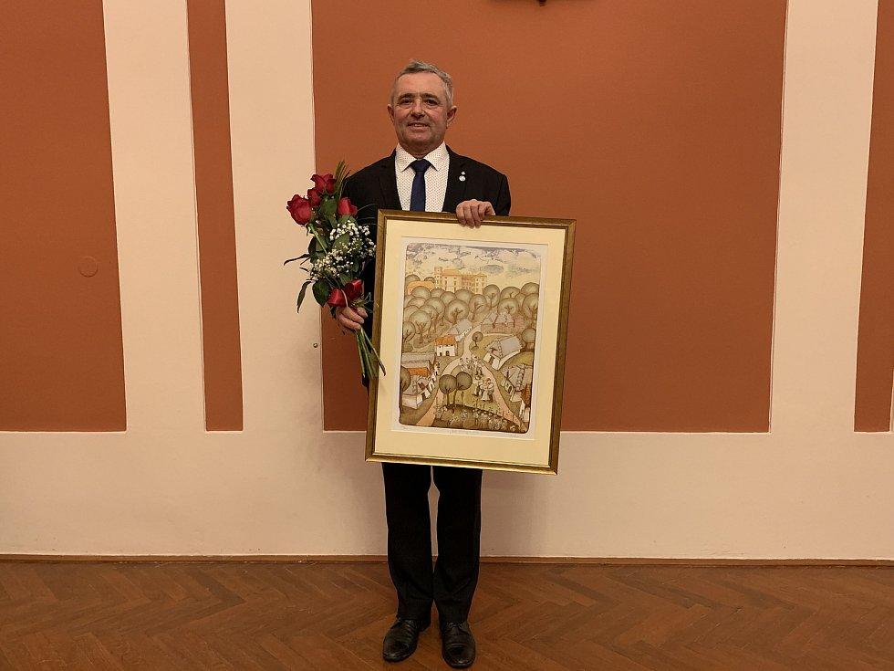 Dlouholetý staroměstský starosta Josef Bazala se 18. ledna rozloučil s pozicí prvního muže města.