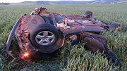 Tragická nehoda u Strání