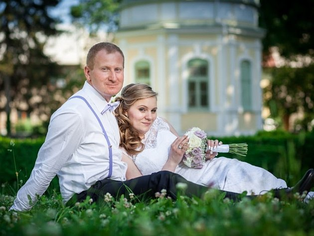 Soutěžní svatební pár číslo 139 - Barbora a Roman Mikšíkovi, Holešov