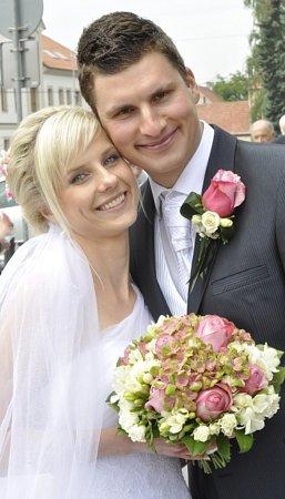 Soutěžní svatební pár 88 - Lenka a Roman Machačovi, Uherský Brod.