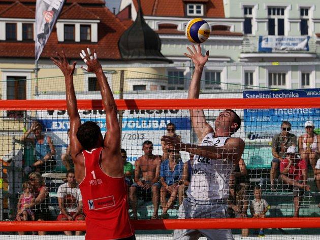 Beachvolejbalisté v Hradišti trénovali na olympiádu.