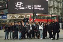 Studenti Stojanova gymnázia Velehrad poznávali metropoli Anglie.