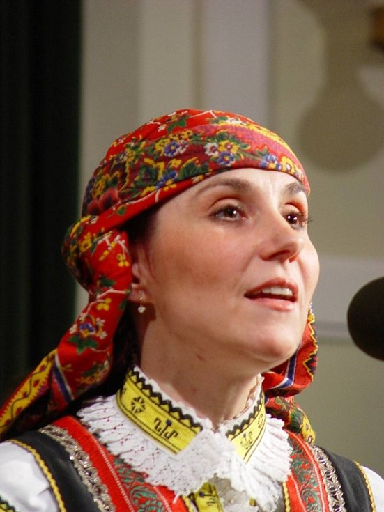 Sólistka Kunovjanu Kamila Machová.