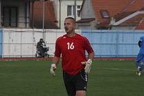 Brankář Filip Kovařík nastoupil za Hluk po čtyřech letech.