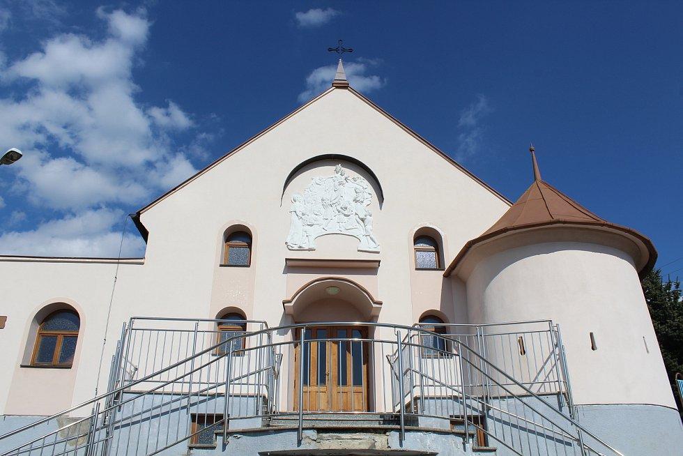 Prohlídka obce Ořechov. Kaple