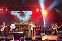 Pražský výběr se ve čtvrtek 4. července objevil ve slušně zaplněném zámeckém amfiteátru v Buchlovicích, jako jedno z es letního hudebního festivalu Buchlovské léto.
