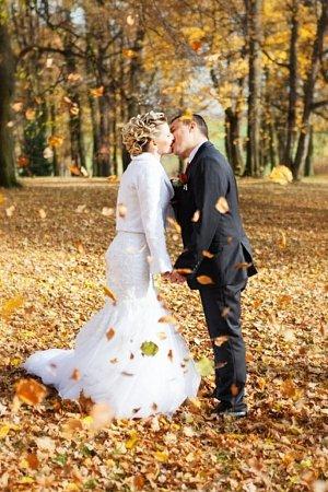 Soutěžní svatební pár číslo 118 - Michaela a Michal Vlachopulosovi, Přerov.