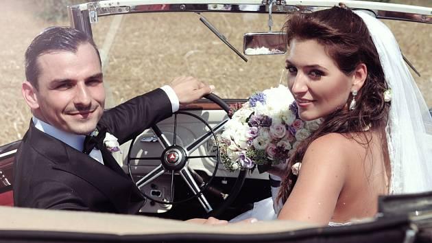 Soutěžní svatební pár číslo 138 - Denisa a Petr Novotní, Prostějov
