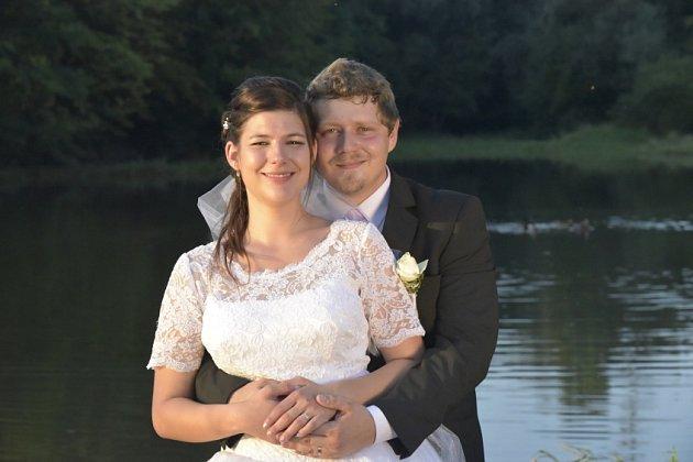 Soutěžní svatební pár číslo 148 - Pavla Ondřej Davidovi, Hranice