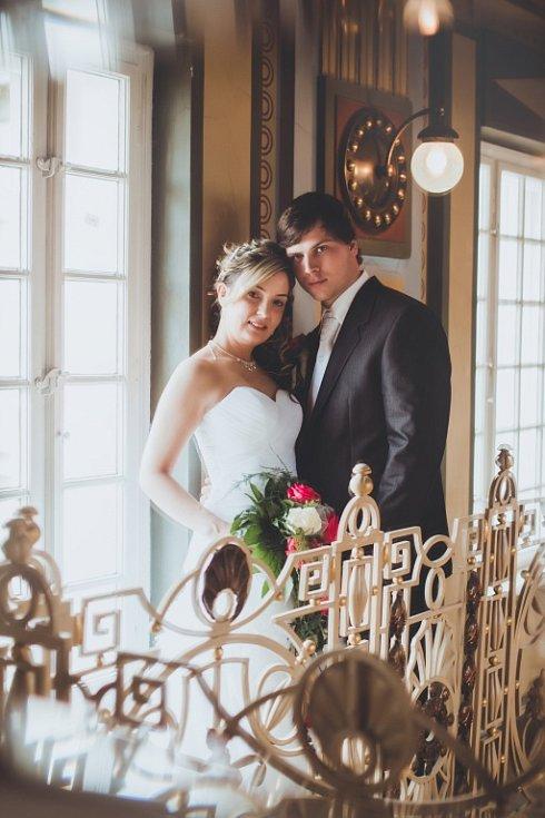 Soutěžní svatební pár číslo 43  –  Iveta a Martin Halouskovi, Plumlov