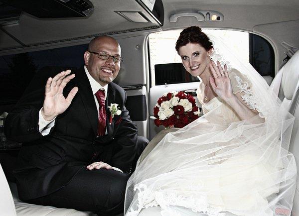 Soutěžní svatební pár číslo 56 - Magdalena a Přemysl Švandovi, Uherské Hradiště.