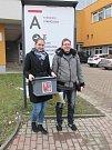 V pátek doputovala volební urna i do Uherskohradišťské nemocnice.