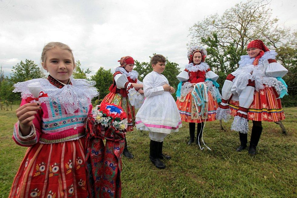 Jízda králů ve Vlčnově, 30. května 2021.