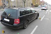 Ke srážce dvou vozidel došlo v Uherském Hradišti v pondělí 24. listopadu. Policie hledá svědky.