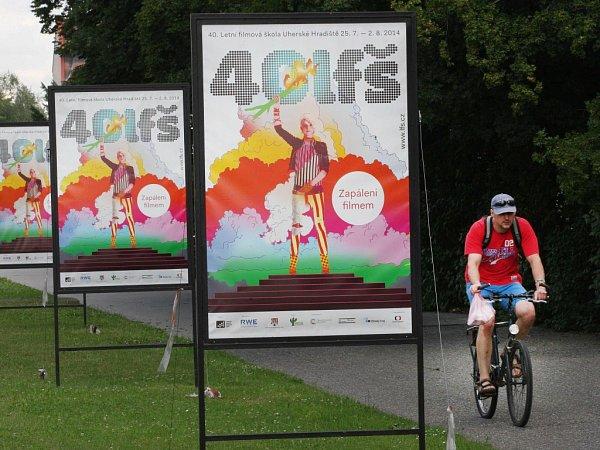 40. ročník Letní filmové školy vUherském Hradišti začíná. Ilustrační foto.