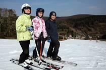 Na Stupavě se dosud lyžuje.