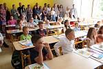 Zahájení školního roku v ZŠ UNESCO.