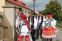 Chasa ve Strání oblékla kroje, na hody si pozvala hned několik kapel různých žánrů.