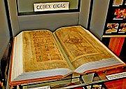 Opět nahlédnout do kopie Ďáblovy bible mohli lidé na Velehradě.