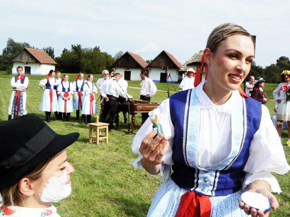 Folklorolympiáda byla originální.