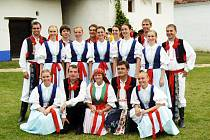 Na letošní folklorolympiádě ve Strážnici.
